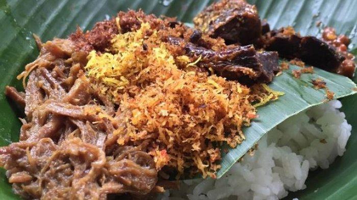 Nasi Krawu makanan khas Gresik