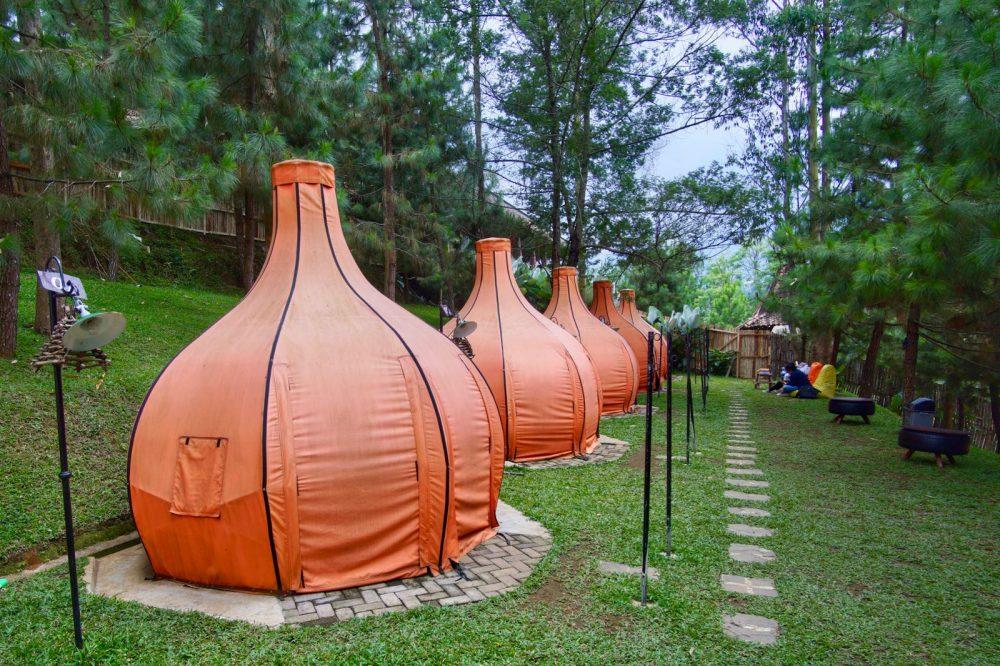 Tempat wisata di Lembang: The Lodge Maribaya